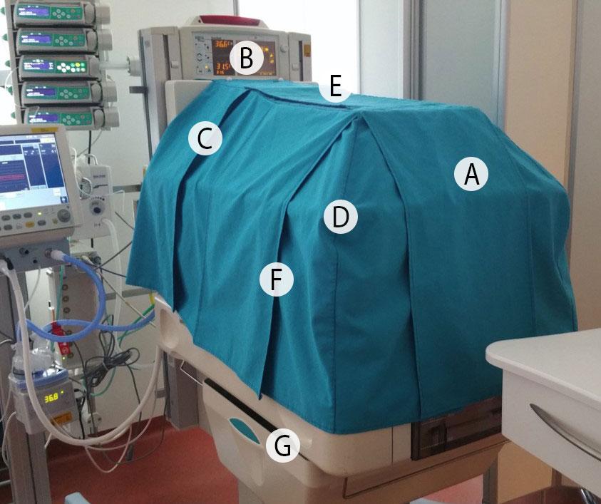 Incubator cover design details